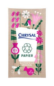 Chrysal Blumenfrisch Papier